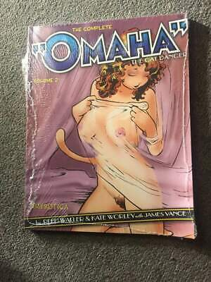 The Complete  Omaha  The Cat Dancer: Volume 1 Reed Waller 9781561634514 • 71.52£