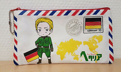 Cute Hetalia Germany Zipper Pouch / Pencil Case  • 4.46£