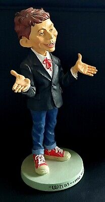 MAD MAGAZINE ALFRED E NEUMAN  What Me Worry?  14  RESIN STATUE 1993 Very Rare • 59.99£