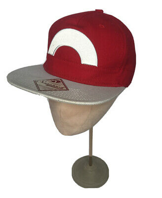 Authentic Pokemon Nintendo Anime Ash Ketchum Hat Cap Cosplay Snapback • 12.99£