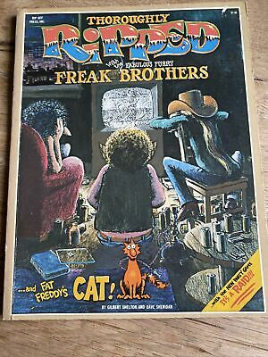 Freak Brothers Thoroughly Ripped, Rare Softback Edition 1978 • 18£