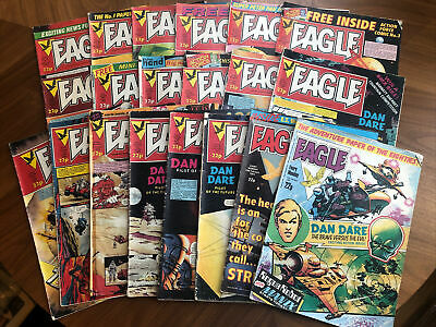 Eagle Comic 1982 Job Lot (20 Comics)  • 6£