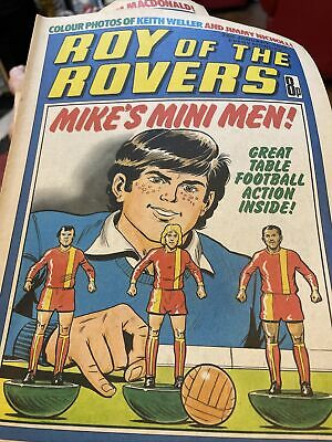 Vintage Roy Of The Rovers Comic - 28th January 1978 • 2.50£
