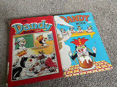 Dandy Annuals 1969 And 1970 • 2.99£