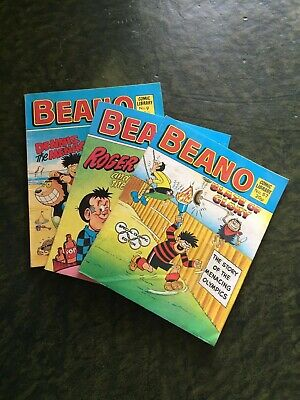 Vintage Beano Mini Comic Books Bundle  • 8£