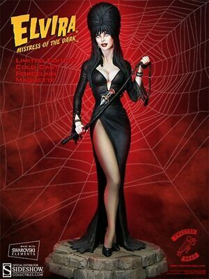 New Tweeterhead Elvira Mistress Of The Dark Maquette 2013 Version Sideshow 1/6 • 1,072.86£