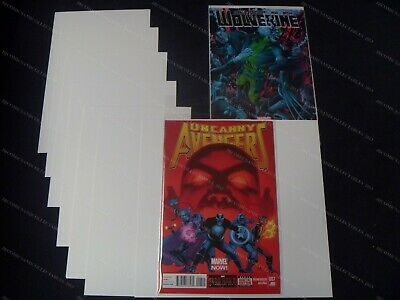 Current Size U.s. Comic Backing Boards - Pack Of 100 (size B) • 7.99£