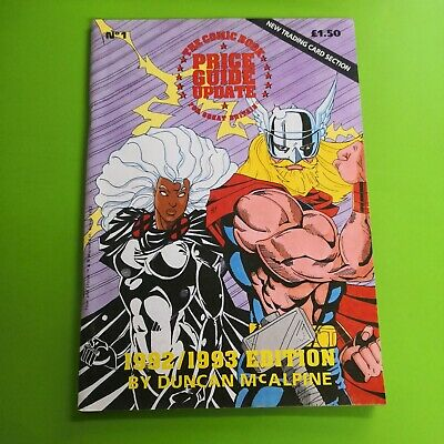 The Comic Book Price Guide Update For Great Britain No. 1 1992 /1993 McAlpine • 9.99£