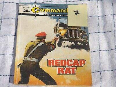 2203 Redcap Rat Corps Of Military Police Commando War Story (7) • 4.99£