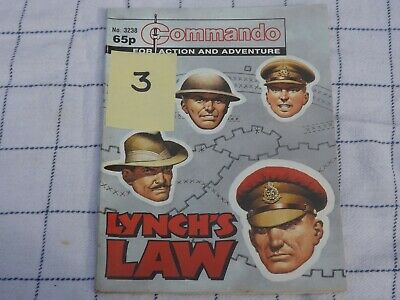 3238 Lynch's Law Corps Of Military Police Commando War Story (3) • 4.99£