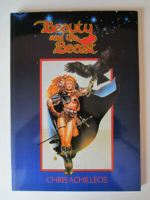 CHRIS ACHILLEOS - Beauty And The Beast - NEW MINT 3rd SIGNED Paper Tiger • 25£