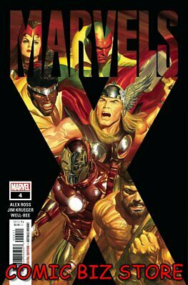Marvels X #4 (of 6) (2020) 1st Printing Alex Ross Main Cover ($4.99) • 4.15£