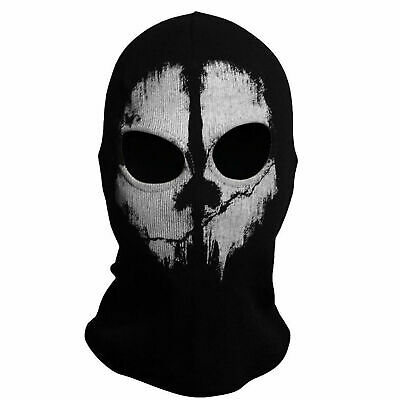 For Balaclava Hood Face Ghost Skull Mask Biker Halloween Skateboard Cos • 6.79£