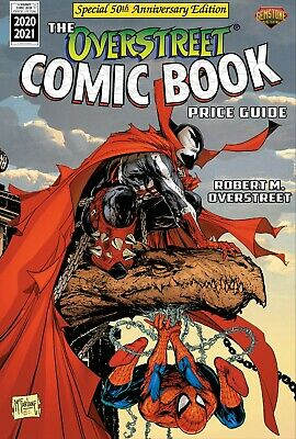*NEW* OVERSTREET Comic Book Price Guide (2020-21) #50 - Spawn/Spider-Man Paperbk • 22.95£