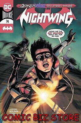 Nightwing #74 (2020) 1st Printing Bagged & Boarded Moore Main Cover Dc Comics • 3.55£