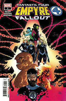 Empyre Fallout Fantastic Four #1 Marvel Comics Bagged/boarded • 3.99£