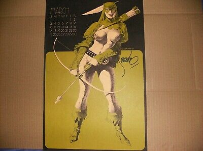Green Arrow Signed Print By Steranko • 18.76£