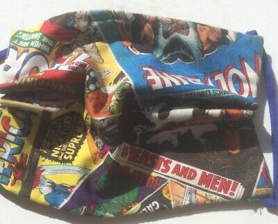 New Marvel Legends Health Mask Tripple Fabric For Extra Protection & Comfort • 2.35£
