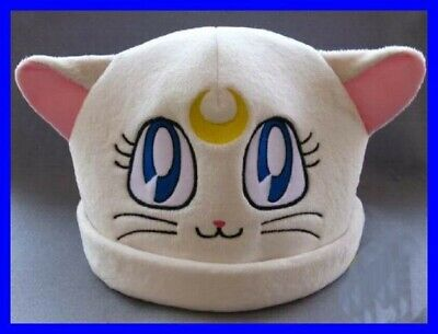 Hat Plush Artemis Cat Sailor Moonkun Japan Anime Manga New Cosplay • 8.33£