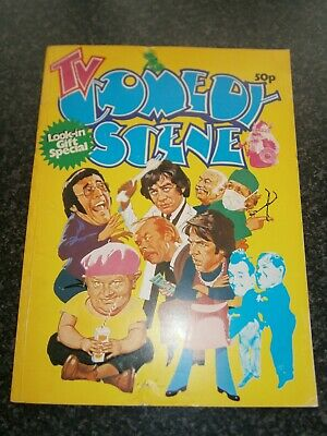 Vintage Look-in TV Television Comedy Scene Gift Special Paperback 1976 • 17.50£