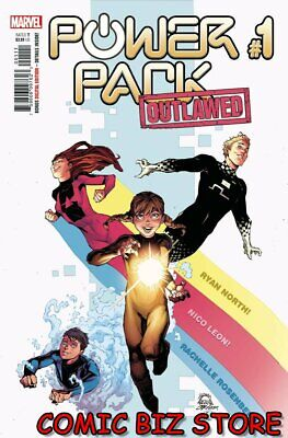 Power Pack #1 (of 5) (2020) 1st Printing Main Cover Marvel Comics  • 3.65£
