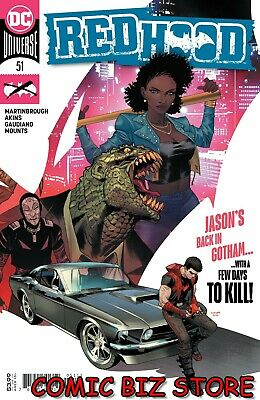 Red Hood Outlaw #51 (2020) 1st Printing Mora Main Cover Dc Comics  • 3.65£