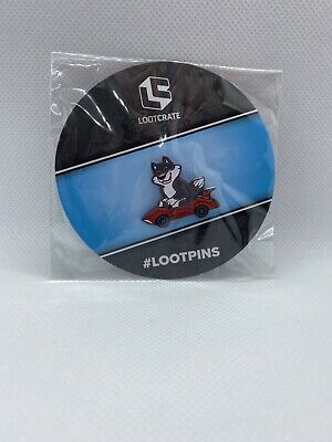 Lootcrate Travelers Pin **Exclusive** • 0.99£