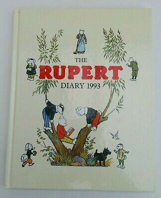 The Rupert Diary 1993 - Unused • 6.99£