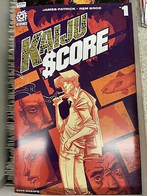 Kaiju Score Issue #1 2020 Aftershock Cover A • 3.74£