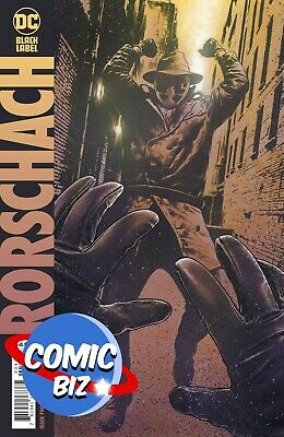 Rorschach #4 (of 12) (2021)1st Printing Charest Variant Cover Dc Comics ($4.99) • 4.25£