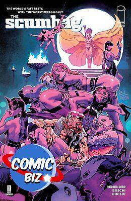 Scumbag #4 (2021) 1st Printing Bagged & Boarded Main Cover A Image Comics • 3.65£