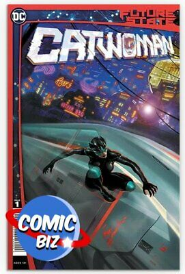 Future State Catwoman #1 (of 2) (2021) 1st Printing Main Cover Dc • 3.65£