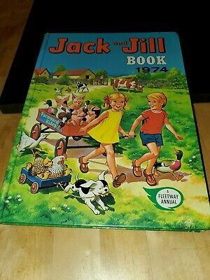 Jack And Jill Annual 1974 Vgc  • 1.80£