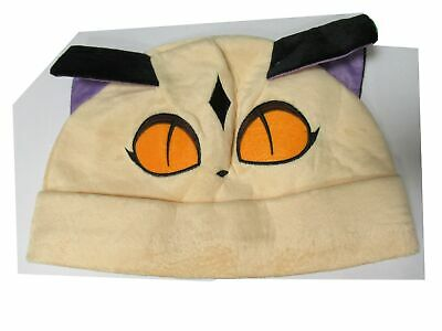 Hat Cat Beige Ears Purple Costume Fancy Dress • 11.69£