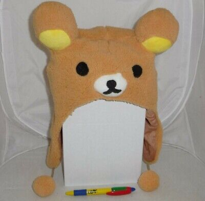 Hat Plush Rilakkuma Japan Anime Manga New Cosplay • 6.79£
