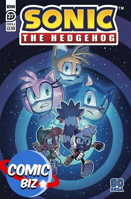 Sonic The Hedgehog #37 (2021) 1st Printing Stanley Main Cover A Idw Comics • 3.65£