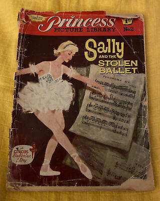 Rare Vintage 1961 Princess Picture Library Comic. Number 2 • 15£
