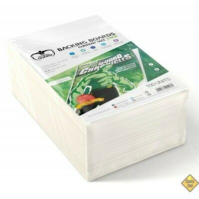 Golden Size Protects Comic 100 Backing Boards Current Size Thick 171x266 Mm New • 29.63£