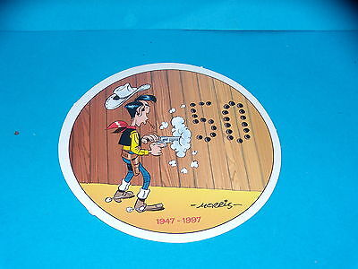 Sticker - Lucky Luke - 50 Years - 1997 - Morris • 3.30£