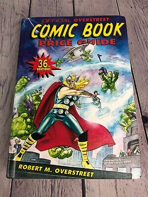Official Overstreet Comic Book Price Guide 36th Edition Thor 2005 • 11.90£