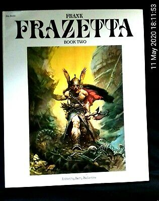 Frank Frazetta Book 2 Published By Pan Books • 24.95£