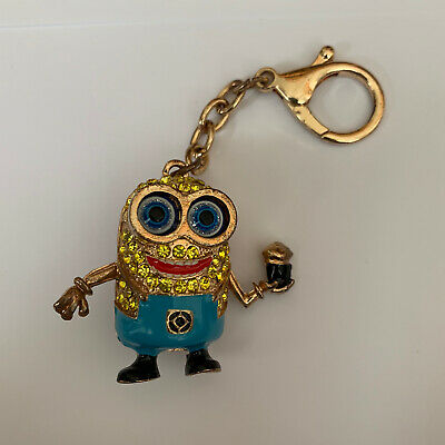 Dispicable Me Minion - Gold Moving Keychain • 4.99£