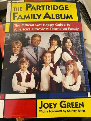 The Partridge Family Album By Green, Joey Book (David Cassidy) • 14.99£