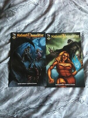 Zenescope Salems Daughter Legend Of The Jersey Devil #4 Covers A & B • 5.50£