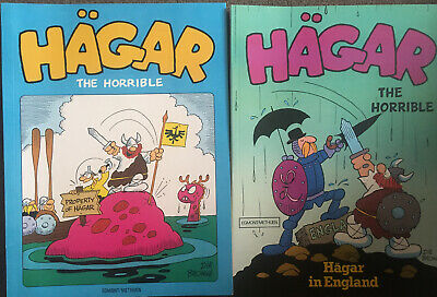 Hagar The Horrible Comic Books • 20£