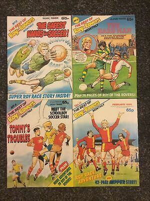 The Best Of Roy Of The Rovers Monthly - No.2,3,4,11 1988/89 • 9.50£