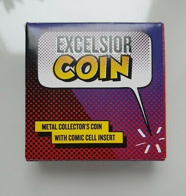 Stan Lee Excelsior Coin. Brand New.originally Packaging • 20£