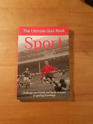 The Ultimate Quiz Book Sport • 2.50£