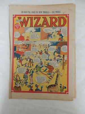 Vintage Boys Comics: The Wizard (2) And Hotspur (1) – May/June 1945  • 20£