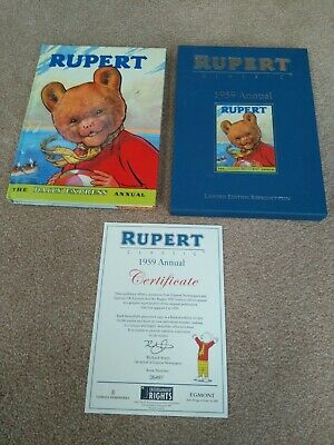 Rupert Bear 1959 Annual Reproduction • 22.50£
